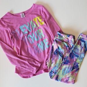 🔮 Girls active wear set